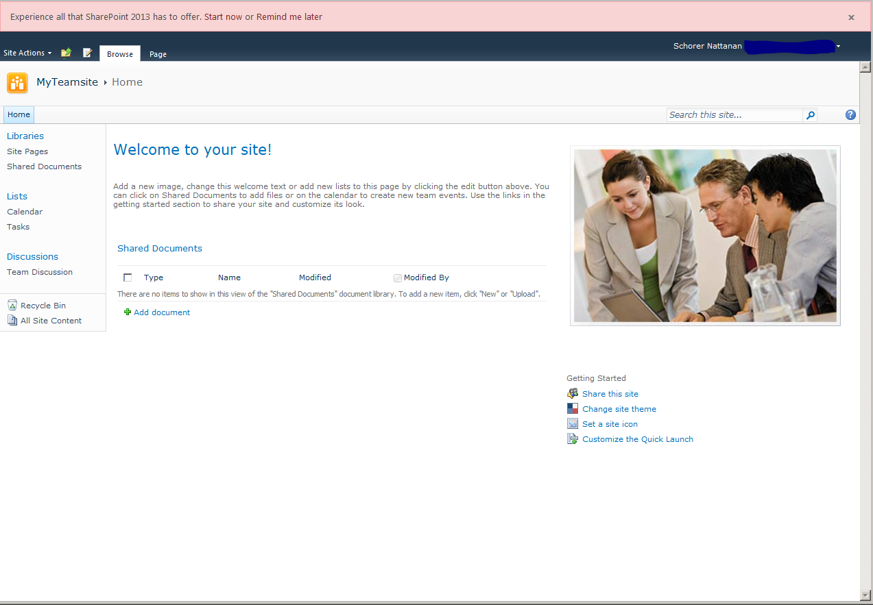 Blank Site After Site Collection Upgrade To SP2013 | SharePoint Loupe